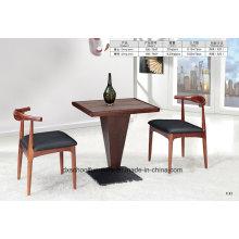 Ox Horn Massivholz Tisch und Stuhl für Esszimmer