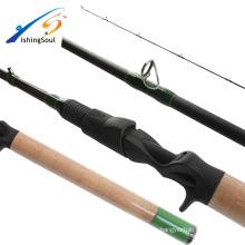BAR101 Fishingsoul SRF nano high carbon FUJI guide extra fast action bass fishing rod