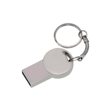 Chaveiro mini pen drive de metal