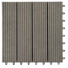 out Door Waterproof Wood Plastic Composite Deck Tile