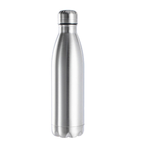 1000ml Single Wall Hot Cold Insulated Vacuum Flask Stainless Steel Sports Drinks Water Bottle