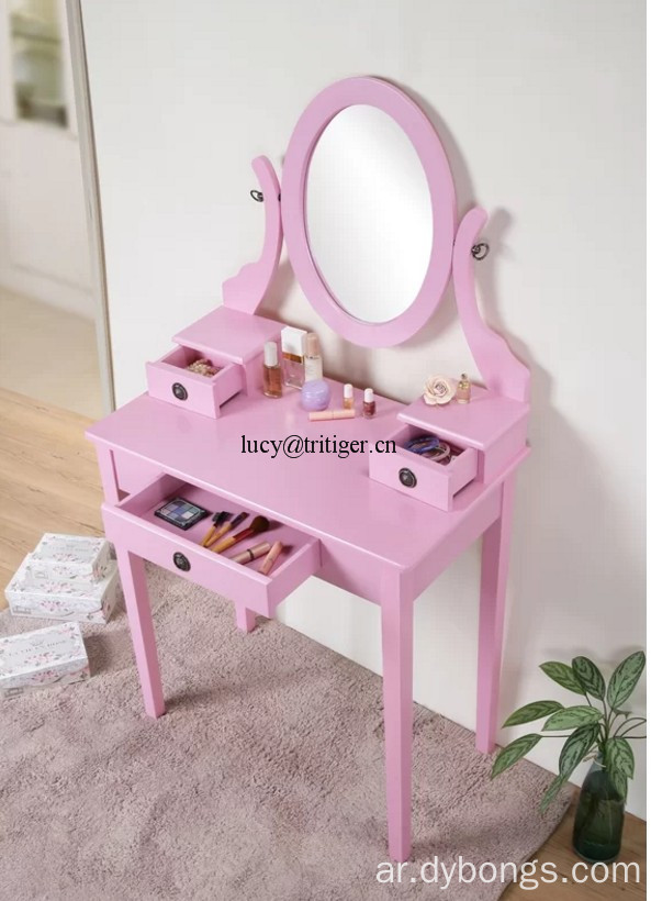 Vanity Set with Mirror dressing table makeup table Dresser