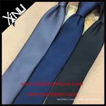 School Uniform Polyester Plain Silk Black Tie