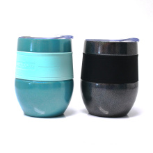 Egg Shape Insulated Vacuum Coffee Tumbler with 304 Stainless Steel Material