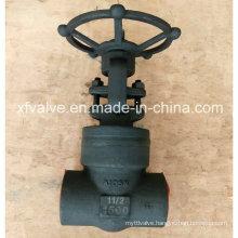 API602 Forged Steel Pressure Seal Thread End NPT Gate Valve