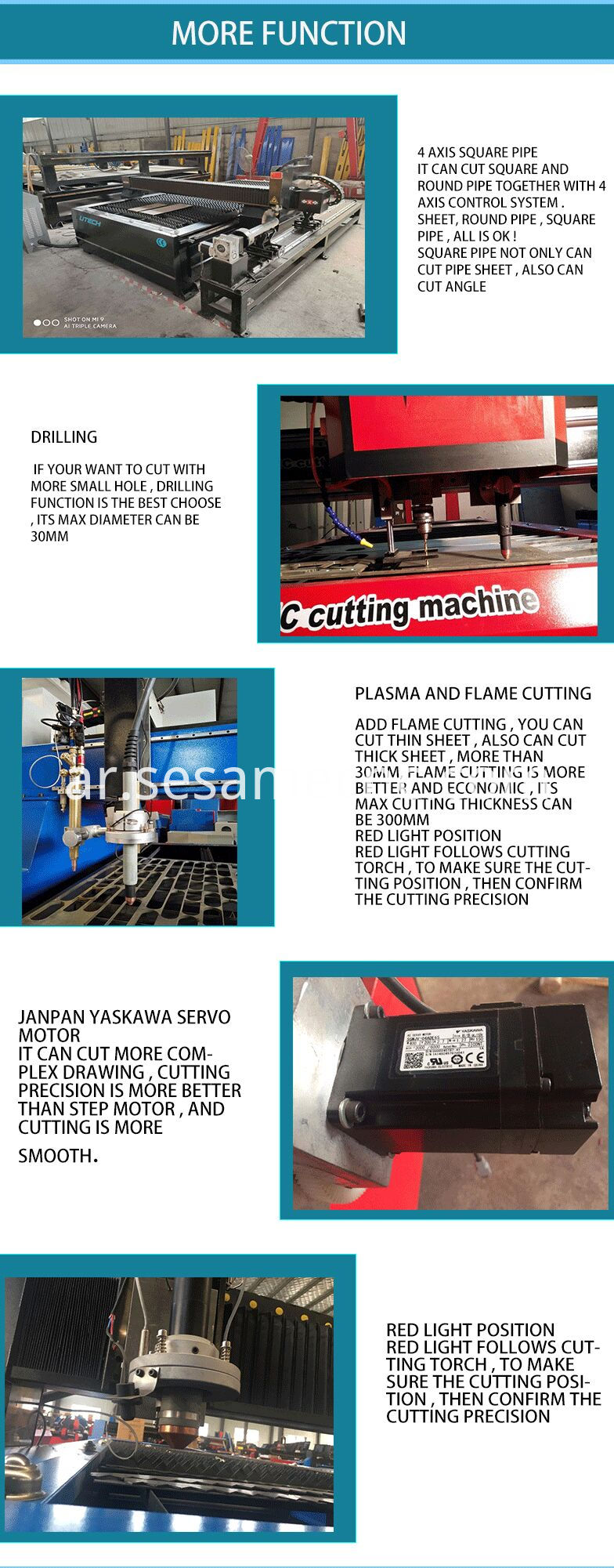 plasma laser cutting machine