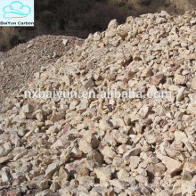 60% -88% de bauxita calcinada Al2O3 com baixo preço