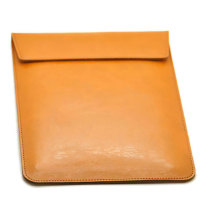 Logotipo personalizado PU Leather Laptop Sleeve Bag