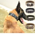 Training Outdoor Military Pet Dog Halsband