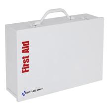 Caixa de kits de primeiros socorros para desastres médicos vazia