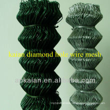 galvanized chain link fence / plastic chain link fence / 9 gauge chain link fence