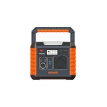 Portable power station with led flashlight