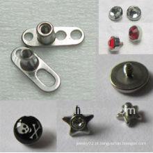 Nova moda micro jóias corpo dérmico