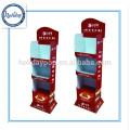 Affichage de plancher de carton de haute qualité pour le présentoir d'épice / papier / affichage de plancher de vente au détail