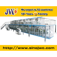 High Quality Semi-Servo Elastic Ear Baby Diaper Making Machine