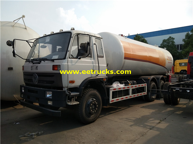 25000 Litres LPG Delivery Tankers