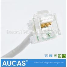 Transparente Farbe Cat5e Keystone Jack UTP Lan Kabel Connect Jack RJ45 Cat5e