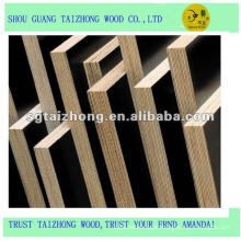 poplar core,18mmX1220X2440,black film faced shuttering plywood
