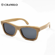 2018 grandes gafas de sol polarizadas uv400 de bambú clásico