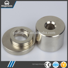 China-made economic coin shape ferrite magnet