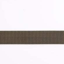 Elastisches graues Polyester- / Nylon- / Baumwollgurt-Gurtband mit Enden