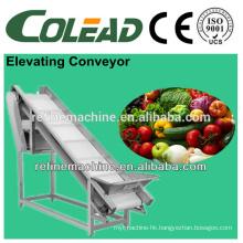 Hot sale SUS 304 elevator/Scraper type elevator/fruit elevator