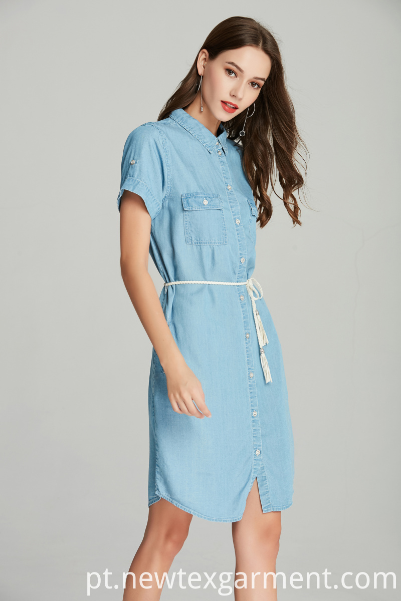 TENCEL DENIM DRESS