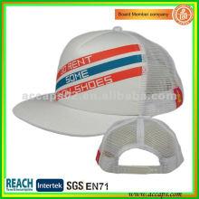 snap back flat brim trucker hats TC-0059