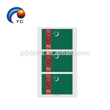 New Fashion Worldwide Country Flag Football Sport Temporary Tattoo Sticker Body Art