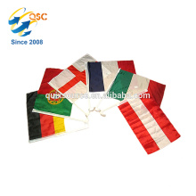 Factory direct variety color cheap price custom mini flags all countries