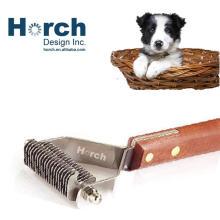 Wholesale Safety Undercoat Steel Pet Dog Cat Rake Hair Grooming