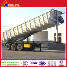 U Shaped Hydraulic Tipping Truck Semi Trailer Tipper