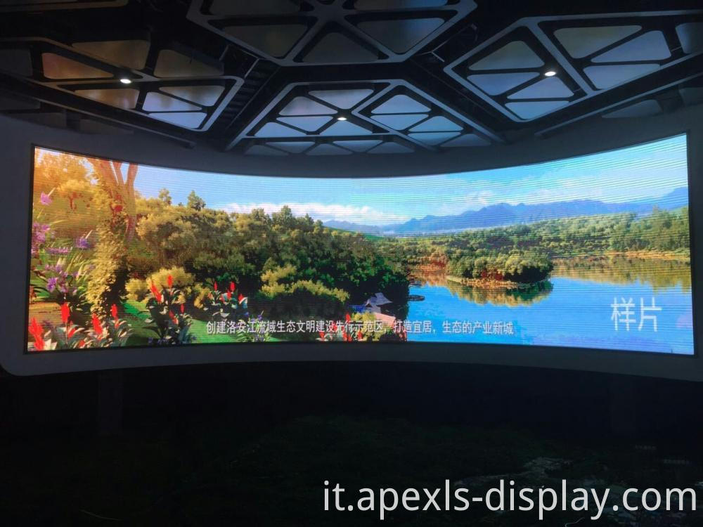 Concave Indoor Led Display 2