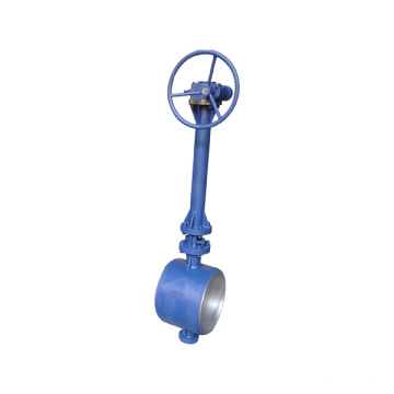 worm gear /turbine drive grooved butterfly valve
