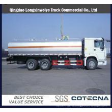 Caminhão de petroleiro do óleo de Qingdao HOWO 8X4 32cbm