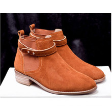 Heißer Verkauf Kuh Leder Frauen Schuhe