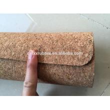 Preminum comfortable cork yoga mat