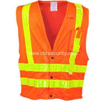 Orange Premium Hi-Vis Mesh Vest