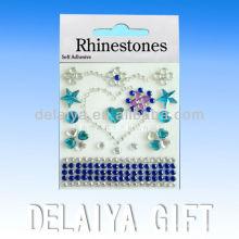 colorful phone rhinestone sticker