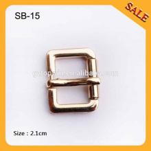 SB15 Boucle de sac à épingle à cheveux en or personnalisée en or, boucle en métal pour sacs à main