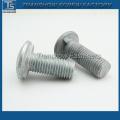 China Fabricação de alta qualidade Preto Csk Cabeça Nib Bolts / Plow Bolts com Nib