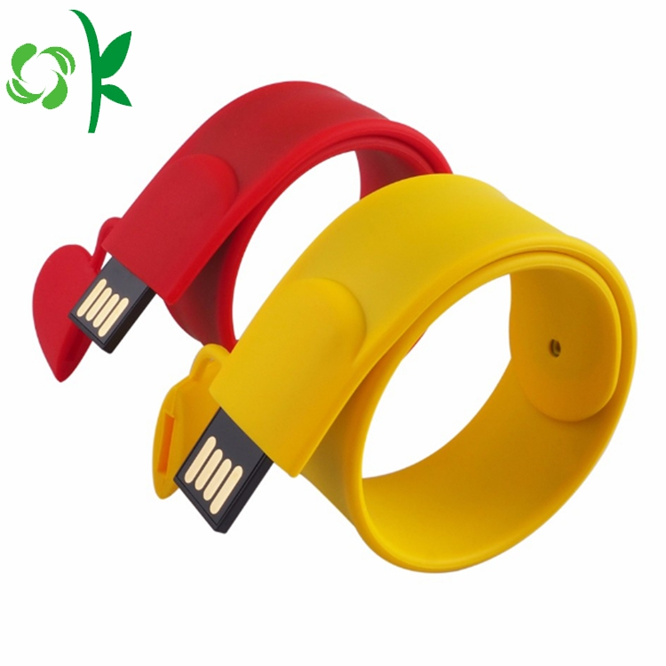 Silicone Usb Flash Drives Bracelet
