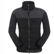 Куртка флисовой армии в черном
