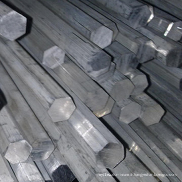 Barre hexagonale en aluminium Ly11CZ, Ly12 CZ