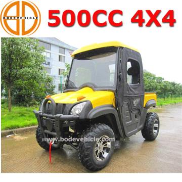 Qualidade Bode garantida 500cc 4X4 UTV para venda, preço de fábrica