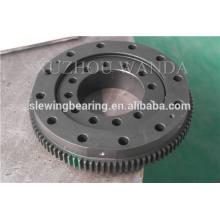 CCS preto revestimento turntable rolamento de anel de engrenagem usado para equipamento swing