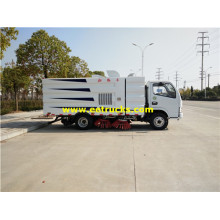 DFAC 5m3 Road Cleaning Vacuum Trucks