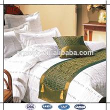 Luxus King Size Jacquard Star Hotel Bett Schals und Läufer