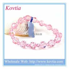 Vente en gros alibaba charme bracelet en cristal bracelet bracelet