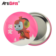 Custom metal button badge plastic pin back buttons